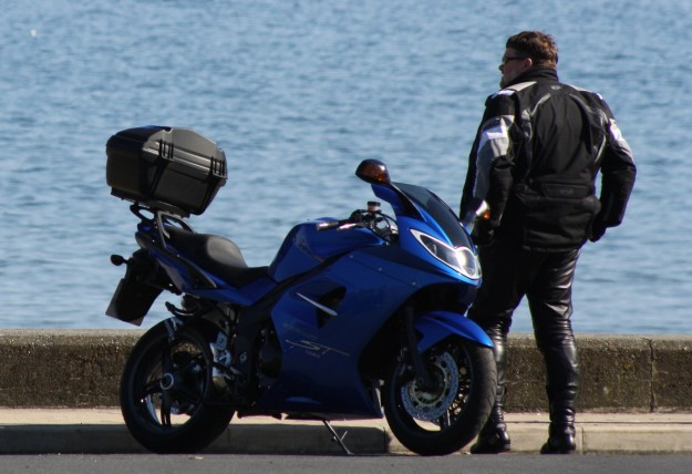 Seaview biker