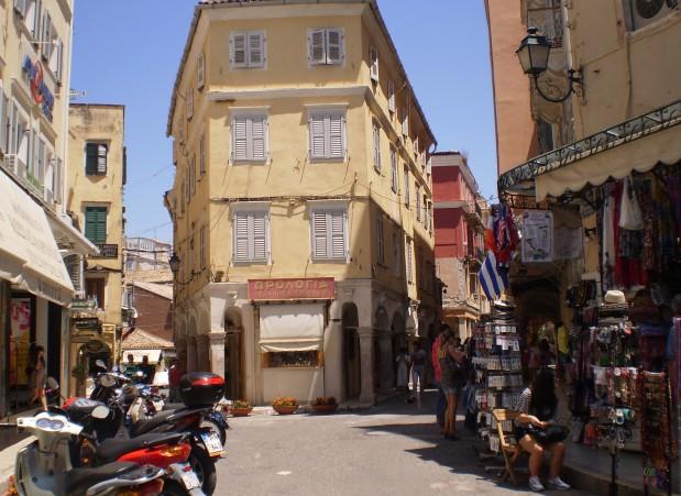 Corfu town 4