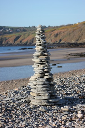 Leaning tower of Laxey